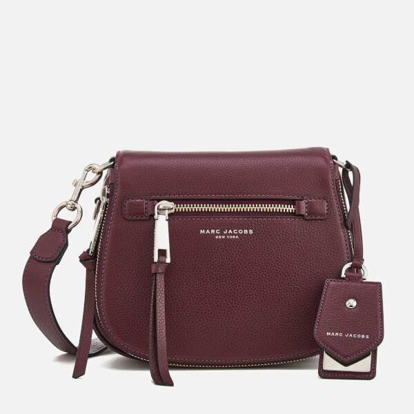 Marc Jacobs Women's Recruit Small Nomad Shoulder Bag - Blackberry: Image 1