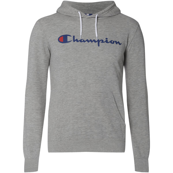 sweat capuche homme logo champion gris chin mens clothing. Black Bedroom Furniture Sets. Home Design Ideas