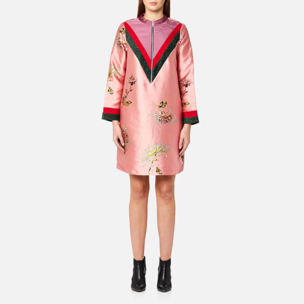 Womens Chinoiserie Sportive Dress Scotch & Soda 4ciFWt6