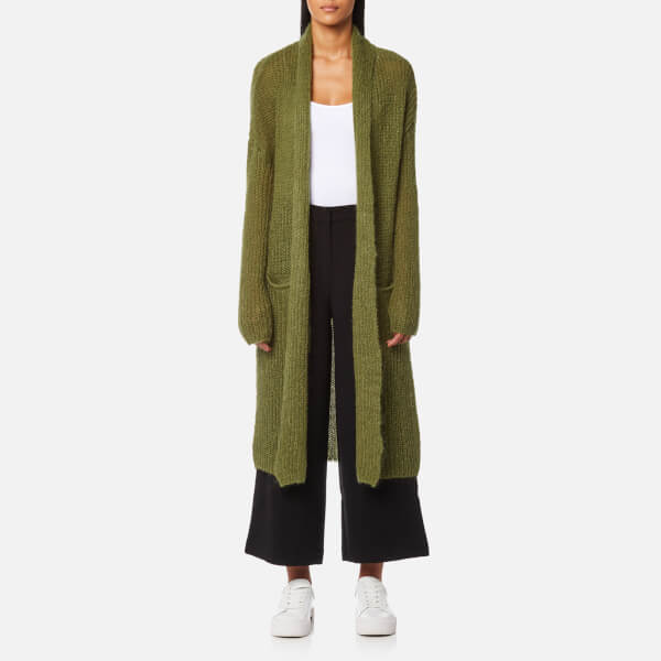 Selected Femme Women's Jina Long Sleeve Knitted Cardigan - Mayfly