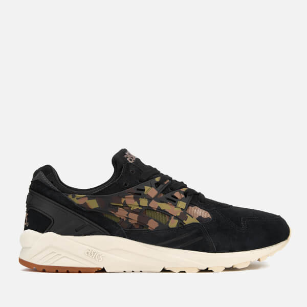 Asics Lifestyle Men's Gel-Kayano Trainers - Black/Martini Olive