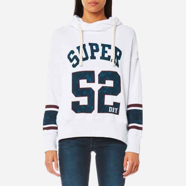 Superdry Women's Varsity Slouch Hooded Sweatshirt - Ice Marl