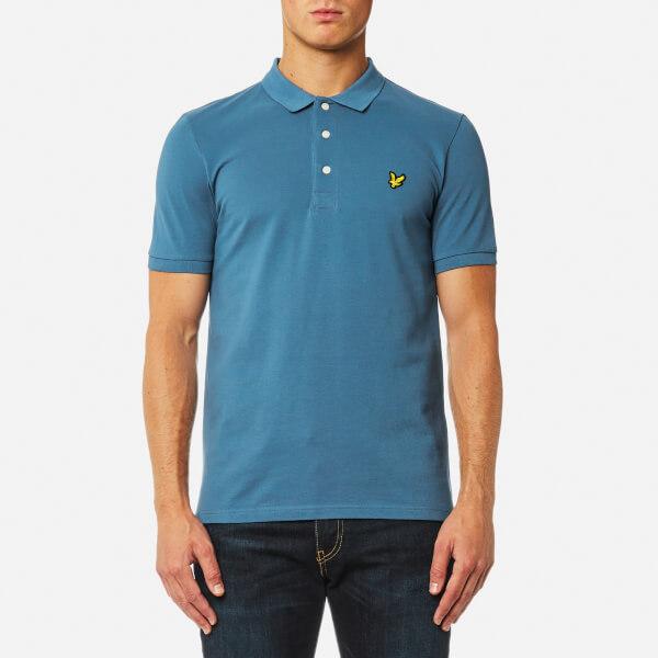 Lyle & Scott Men's Polo Shirt - Light Teal
