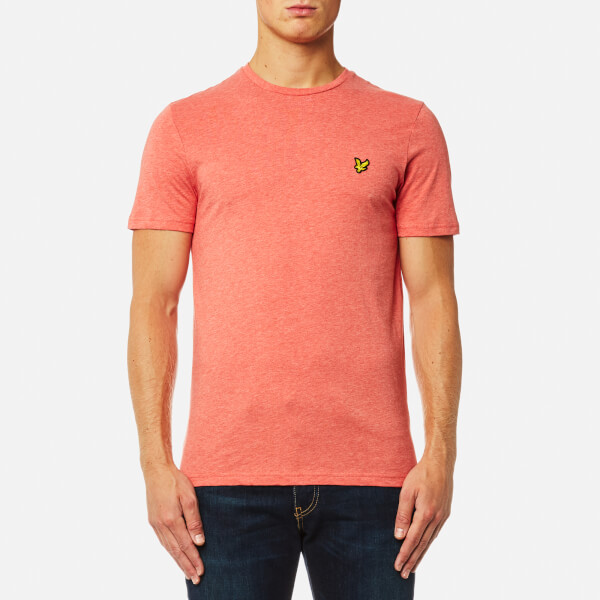 Lyle & Scott Men's Crew Neck T-Shirt - Terracotta Marl