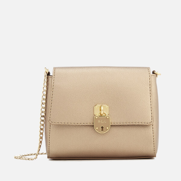 Lauren Ralph Lauren Women's Skyler Cross Body Bag - Gold Leaf