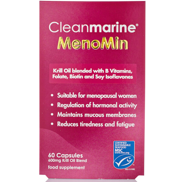 Cleanmarine MenoMin for Women Capsules - 60 x 600mg Gelcaps