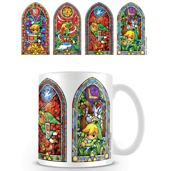 The Legend of Zelda Coffee Mug (Stained Glass)