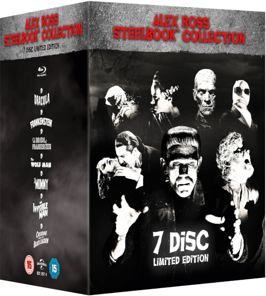 Universal Classic Monsters: Alex Ross Collection - Zavvi Exclusive Steelbook