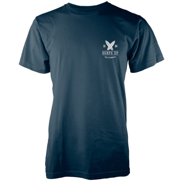 Native Shore Men's Surfs Up Pocket Print T-Shirt - Navy