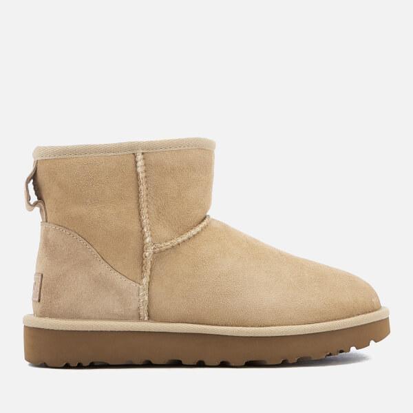 UGG Women's Classic Mini II Sheepskin Boots - Sand