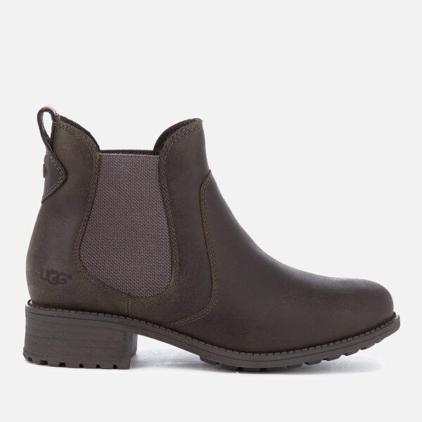 0faa6e19933cf UGG Women s Bonham Leather Chelsea Boots - Grey