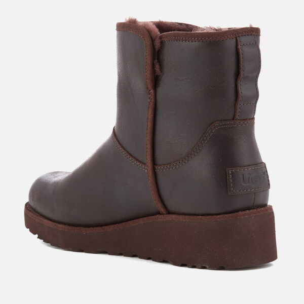 UGG Women's Kristin Classic Slim Leather Sheepskin Boots - Stout - UK 3.5 T1oBHEvg