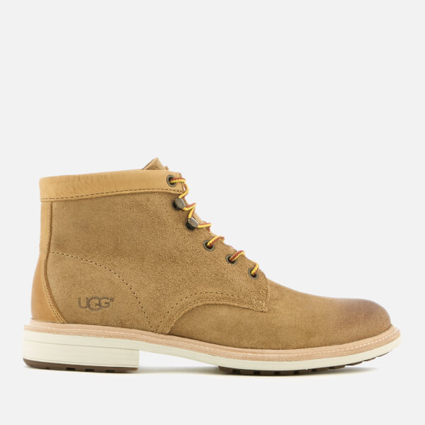 UGG Men's Vestmar Leather Lace Up Boots - Chestnut