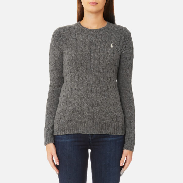 dark grey ralph lauren jumper