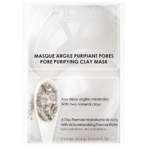 Vichy Pore Purifying Clay Mask Duo Sachet 2 x 6ml