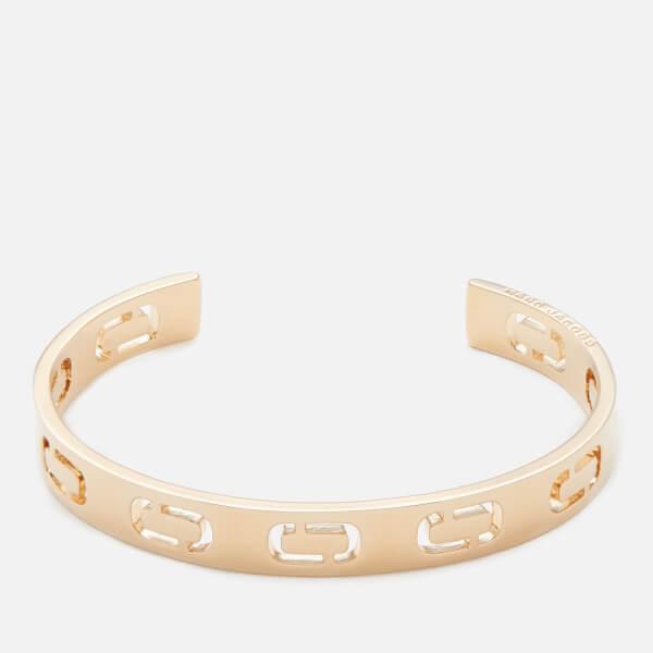 Marc Jacobs Women S Icon Cuff Bracelet Gold Image 1