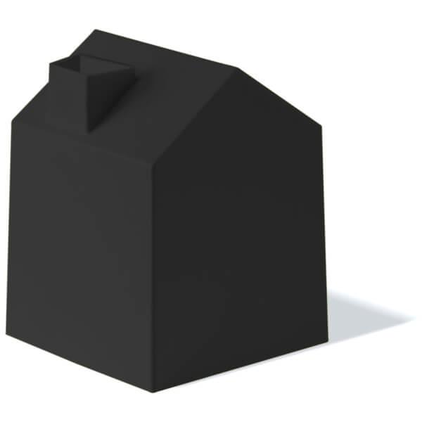 Umbra Casa Tissue Box Cover - Black