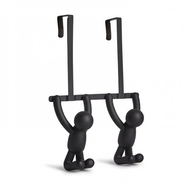 Umbra Buddy Over the Door Double Hook - Black