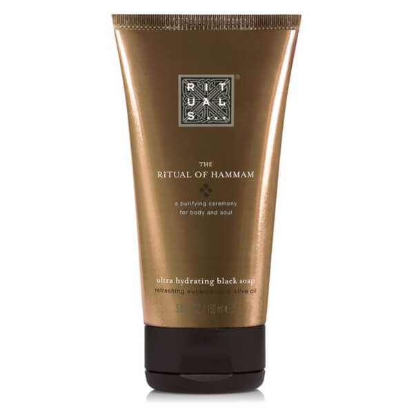 Rituals The Ritual of Hammam Black Soap 150ml - Free UK