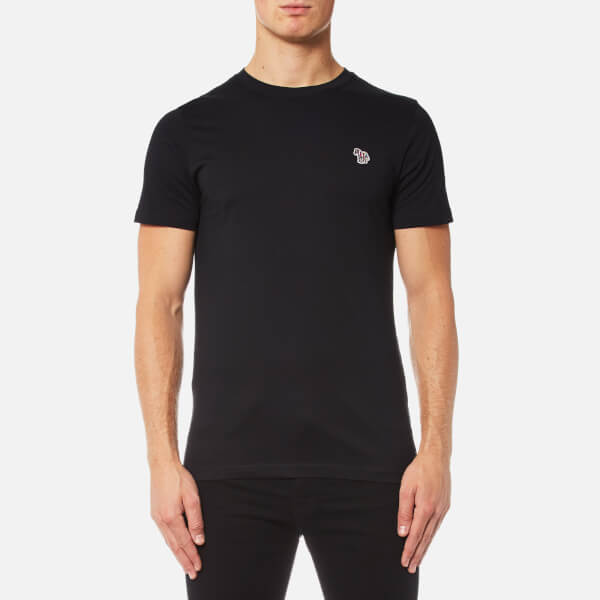 PS by Paul Smith Men's Zebra Logo T-Shirt - Black