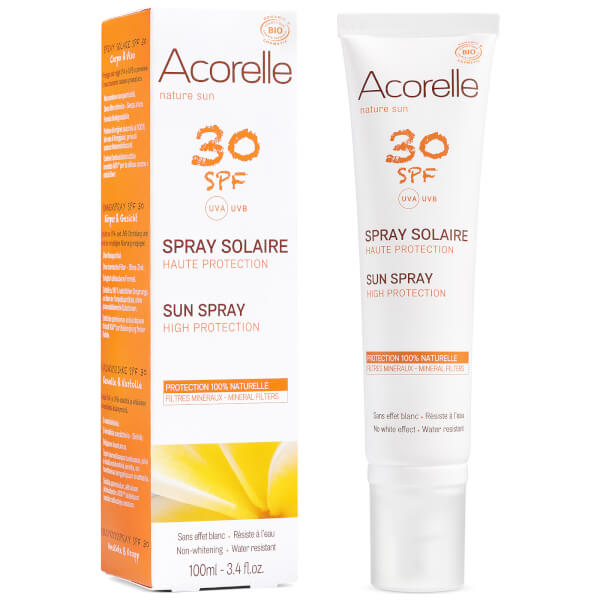 Acorelle Organic SPF30 Sun Spray 100ml