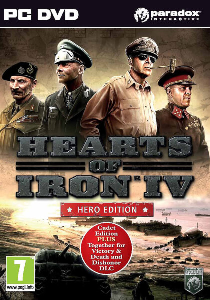 Hearts of Iron IV Hero Edition