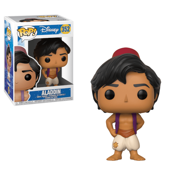 Aladdin Pop Vinyl Figure Pop In A Box Us