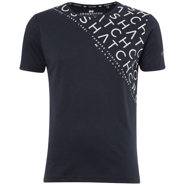 Crosshatch Men's Leeroy T-Shirt - Night Sky