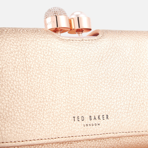 1566d3a1f0d810 Ted Baker Women s Marta Crystal Pearl Bobble Matinee Purse - Rose Gold   Image 3