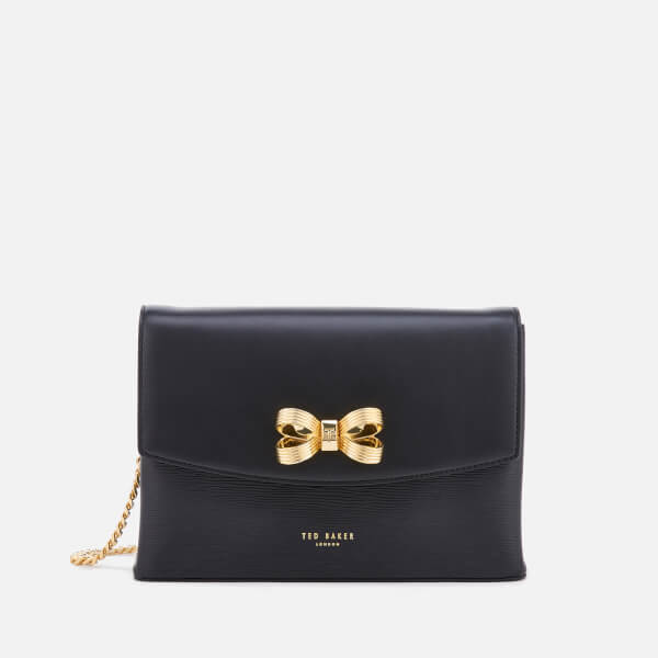 Looped Bow Leather Cross Body Bag Ted Baker Sale 100% Authentic Low Cost Discount Visit YA5dW7z