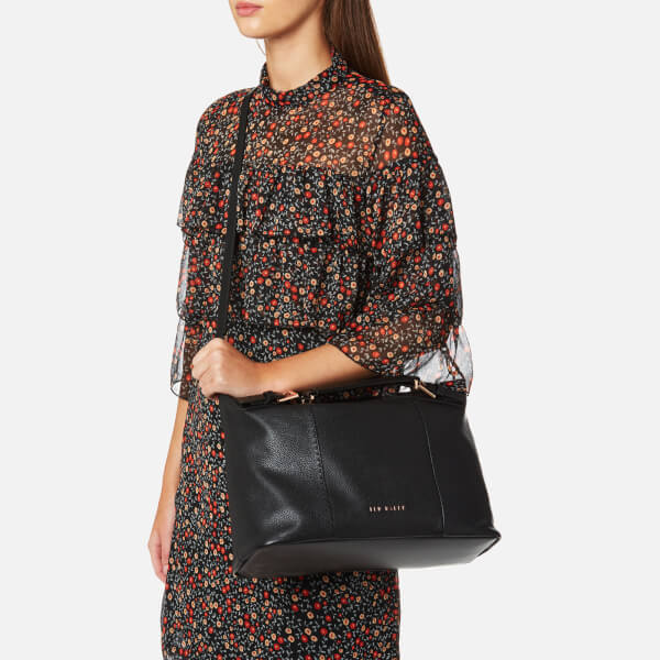 afce670e3 Ted Baker Women s Salbee Pop Handle Large Tote Bag - Black  Image 3