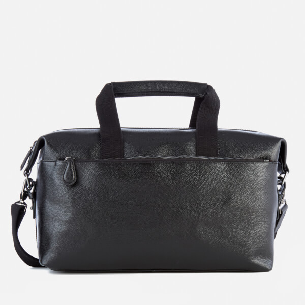 Ted Baker Men's Corre Leather Holdall Bag - Black