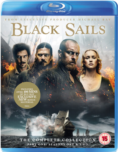 Black Sails: The Complete Collection (Seasons 1-4)