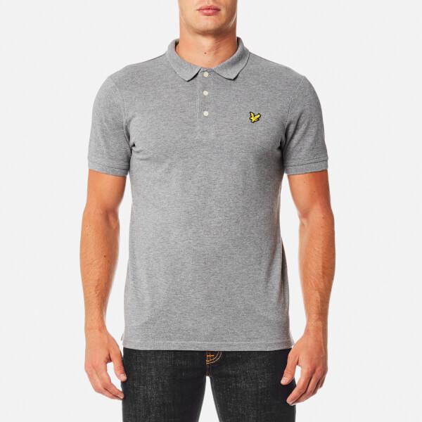 Lyle & Scott Men's Polo Shirt - Mid Grey Marl