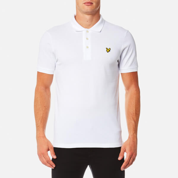 Lyle & Scott Men's Polo Shirt - White