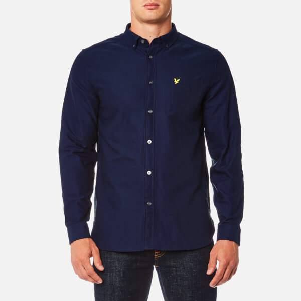 Lyle & Scott Men's Oxford Shirt - Navy