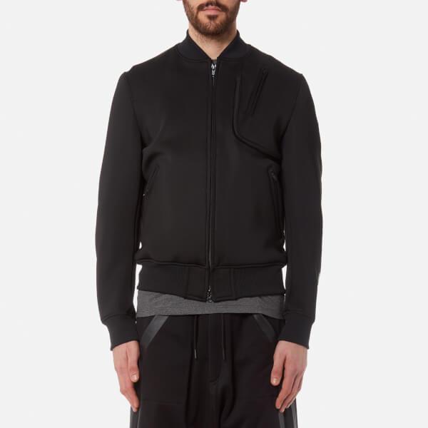 y 3 men s future sport bomber jacket black free uk delivery over 50