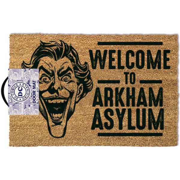DC Comics The Joker Arkham Door Mat