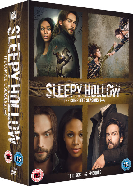 Sleepy Hollow - Season 1-4