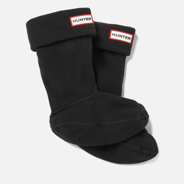 Hunter Kids' Boot Socks - Black