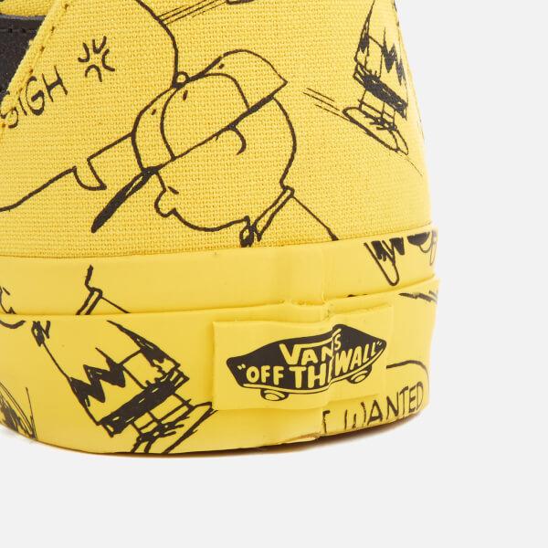 Vans X Peanuts Men s SK8-Hi Reissue Trainers - Charlie Brown Maize  Image c224e4063