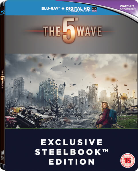 The 5th Wave - Zavvi Exclusive Limited Edition Steelbook (Includes DVD Version) (Limited to 500 Copies)