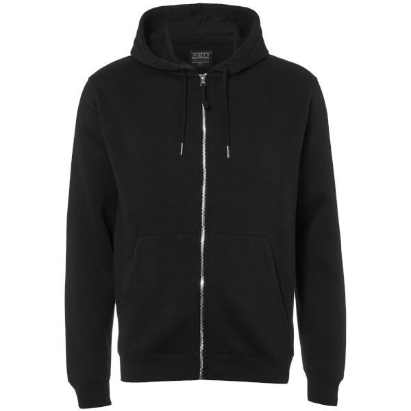 D-Struct Men's Zip Through Hoody - Black