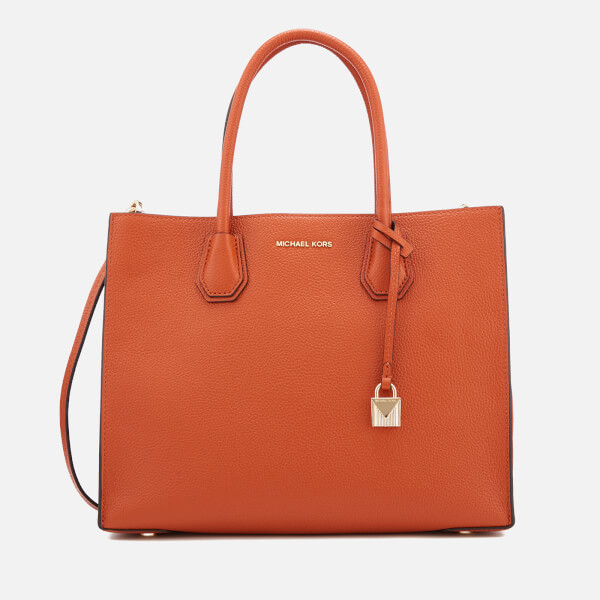 78e0b203db5bda MICHAEL MICHAEL KORS Women's Mercer Large Tote Bag - Orange: Image 1