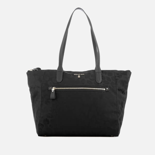 3e915ec58f4 MICHAEL MICHAEL KORS Women s Kelsey Large Top Zip Tote Bag - Black  Image 1