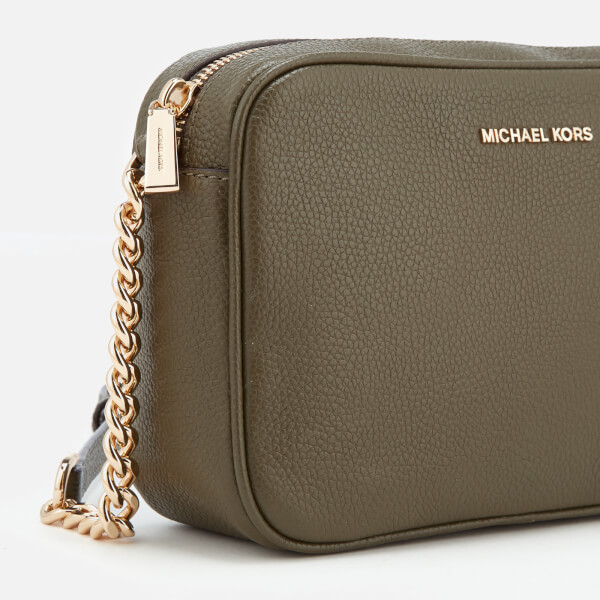 e41a5a3eff5b MICHAEL MICHAEL KORS Women's Ginny Medium Camera Bag - Olive: Image 4