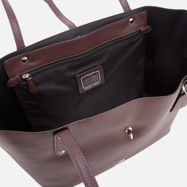 Coach Women S Market Tote Bag Oxblood Image 5