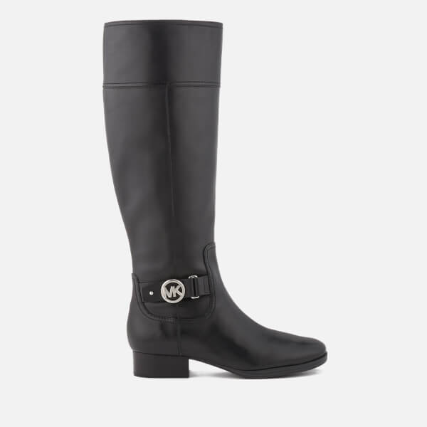 MICHAEL MICHAEL KORS Women's Harland Leather Knee High Boots - Black