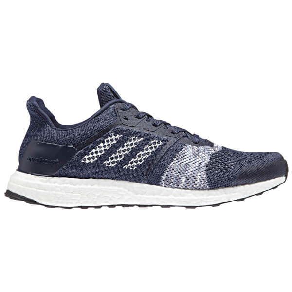 a57ac3f3f04b9 adidas Men s Ultraboost ST Running Shoes - White Navy Mens Footwear ...