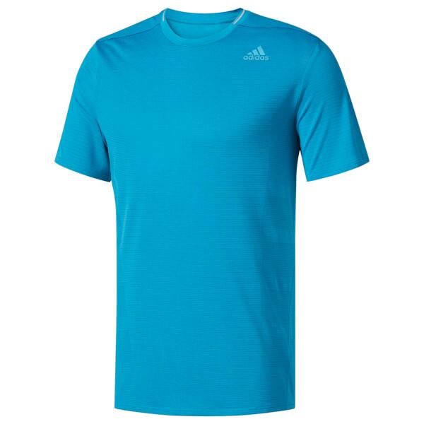 8585605a52291 adidas Men s Supernova Running T-Shirt - Blue Sports   Leisure ...
